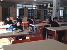 ISC-Erbil Library Swamped with Readers during Winter Break