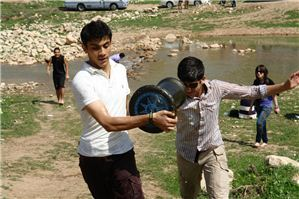 ISC - Erbil 10th and 11th Graders Take Field to Haji Baiyz