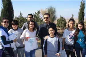 ISC-Erbil Students Promote a Cleaner Environment
