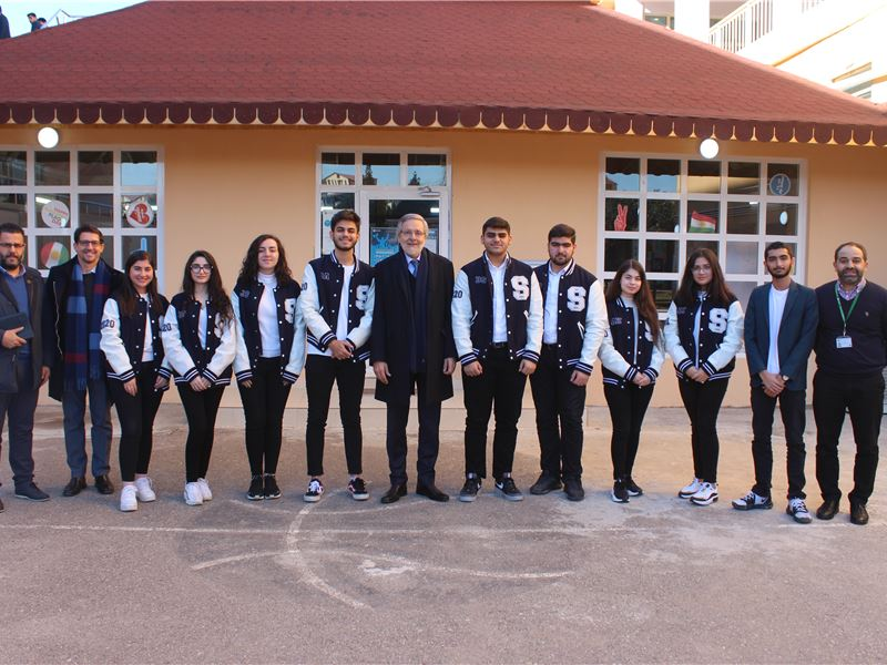 SABIS President Mr. Carl Bistany recently visited the International School of Choueifat ─ Erbil